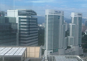 kl sentral hilton hotel view and quill 7
