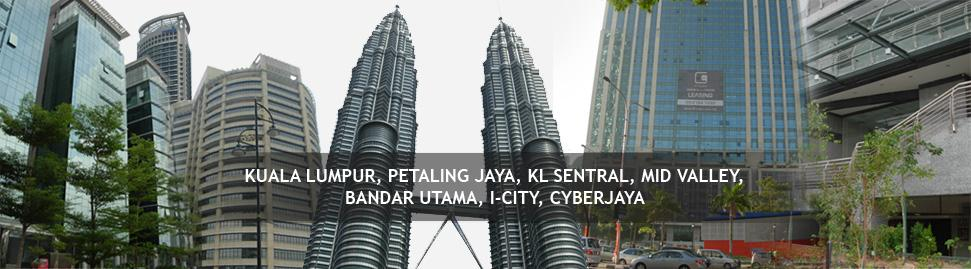 Office Building locations in Kuala Lumpur