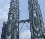 Petronas Twin Tower KLCC Kuala Lumpur CBD golden triangle office space tower