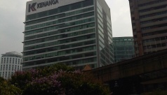 Kenanga International -one of the best office building along Jalan Sultan ismail